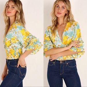 FAITHFULL the Brand Gisela Top in Annina Floral